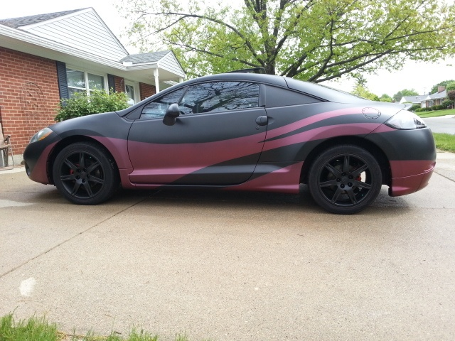06 Eclipse GT full dipped Plasti Dipped Cars Community