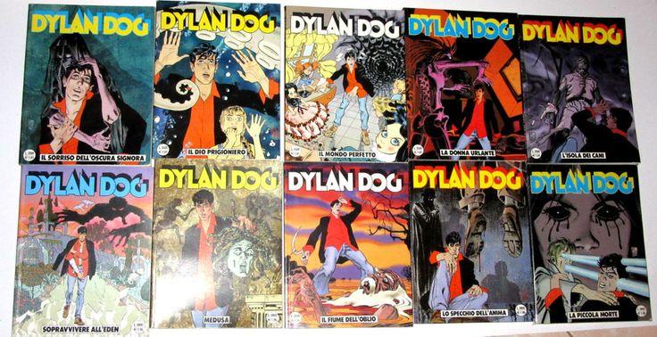 Dylan Dog prima edizione 161-170