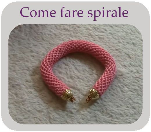 Come fare spirale a uncinetto senza perline Video Tutorial