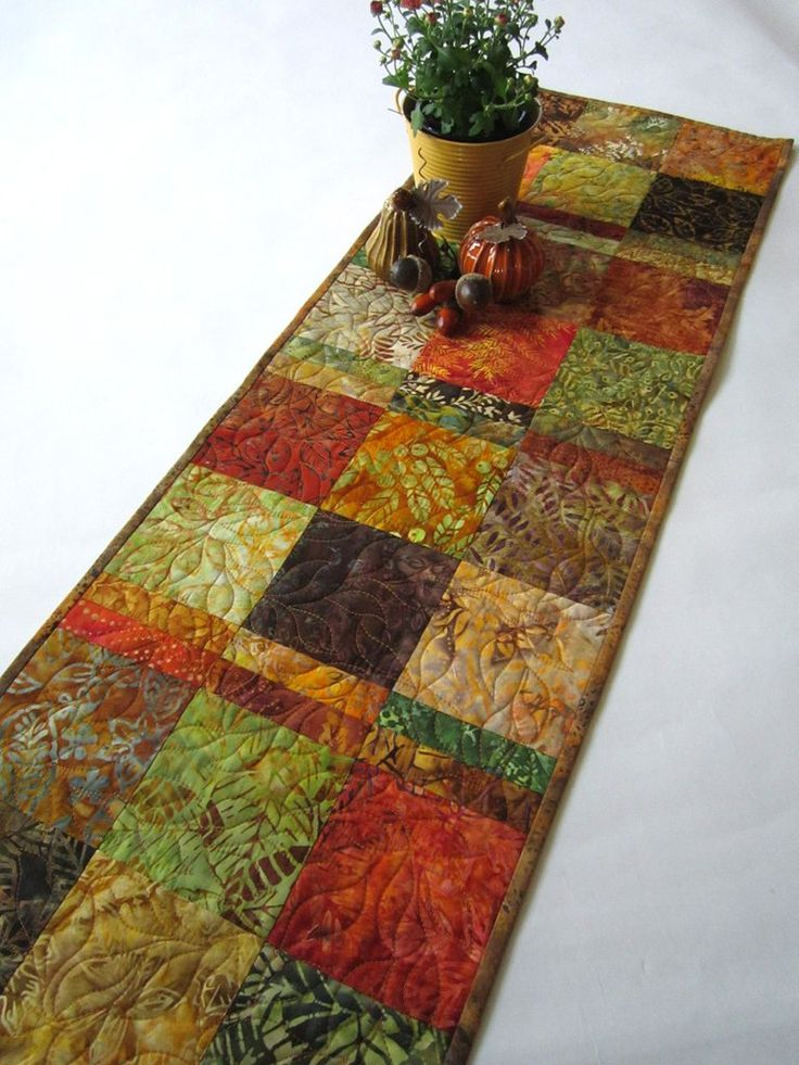 25 Best Patchwork Table Runner Ideas On Pinterest Table