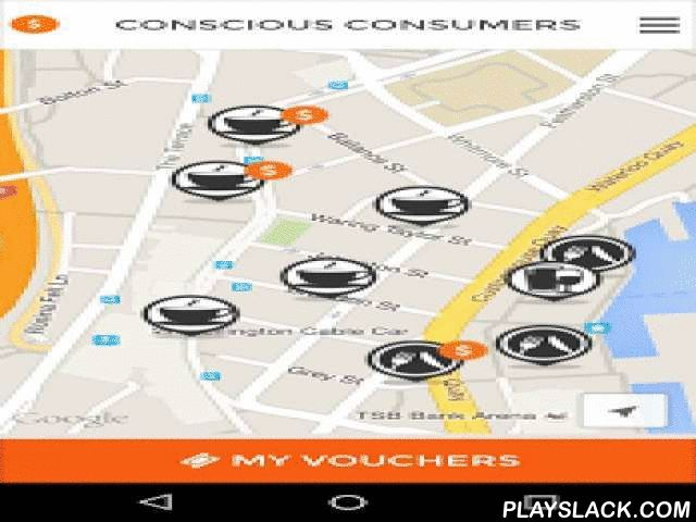 Conscious Consumers  Android App - playslack.com ,  How does it work?1. Choose the issues you care about and add some information on your payment cards2. Spend at participating businesses and they'll find out what you care about3. You get vouchers from businesses, based on your spending behaviourWhy download the app?1. You'll motivate businesses to change their practices on issues you care about2. You'll get vouchers for you (free stuff/discounts) and your community (donations made on your…