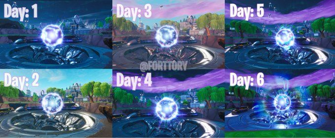 Fortnite Loot Lake Zeropoint Orb Is Now On Stage 2 As Season