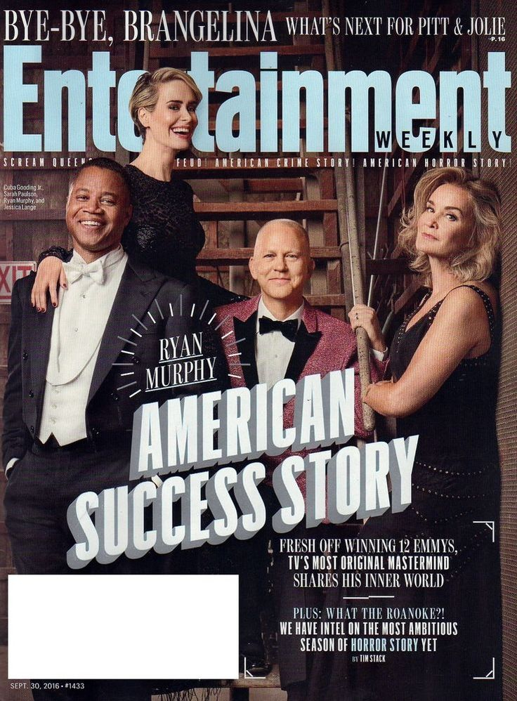 ENTERTAINMENT WEEKLY SEPTEMBER 30 2016 RYAN MURPHY BEAUTY AND THE BEAST POTTER