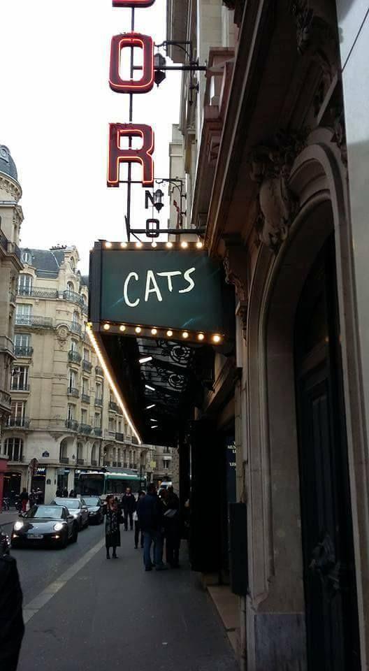 Theatre Mogador, Paris