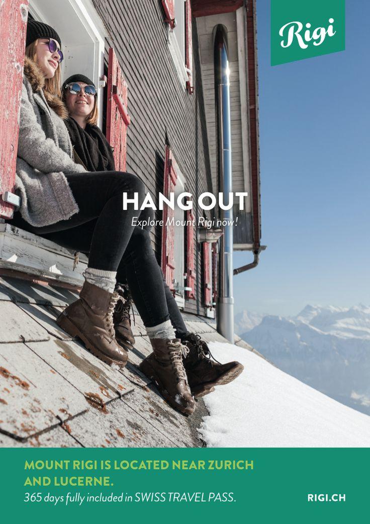 Gesamtheitlicher Markenauftritt und Kommunikation für die Destination Rigi (Mount Rigi)