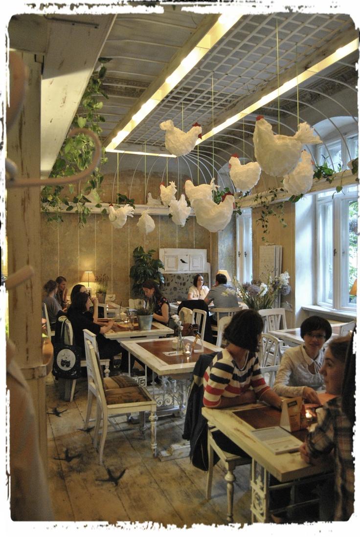 white room, Ptasie Radio, Poznan/Poland, cafe and restaurant,
