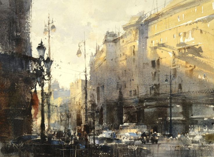 5 Painting Strategies for Your Best Composition Yet The Last Sunshine Is Still Warm Today by Chien Chung Wei, watercolor painting