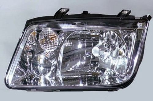 2002 Volkswagen Jetta (1999-05) (Type 4) Left Driver Side Head Light Lens And Housing Without Fog Lights Type 4 Vw2502115C