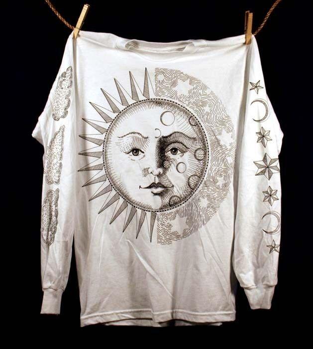 Sun and Moon. $29.00, via Etsy.