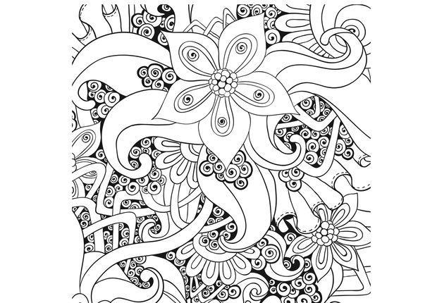 Coloriage gratuit imprimer coloriage anti stress et mandala gratuits pour adulte coloring - Dessin anti stress a imprimer ...