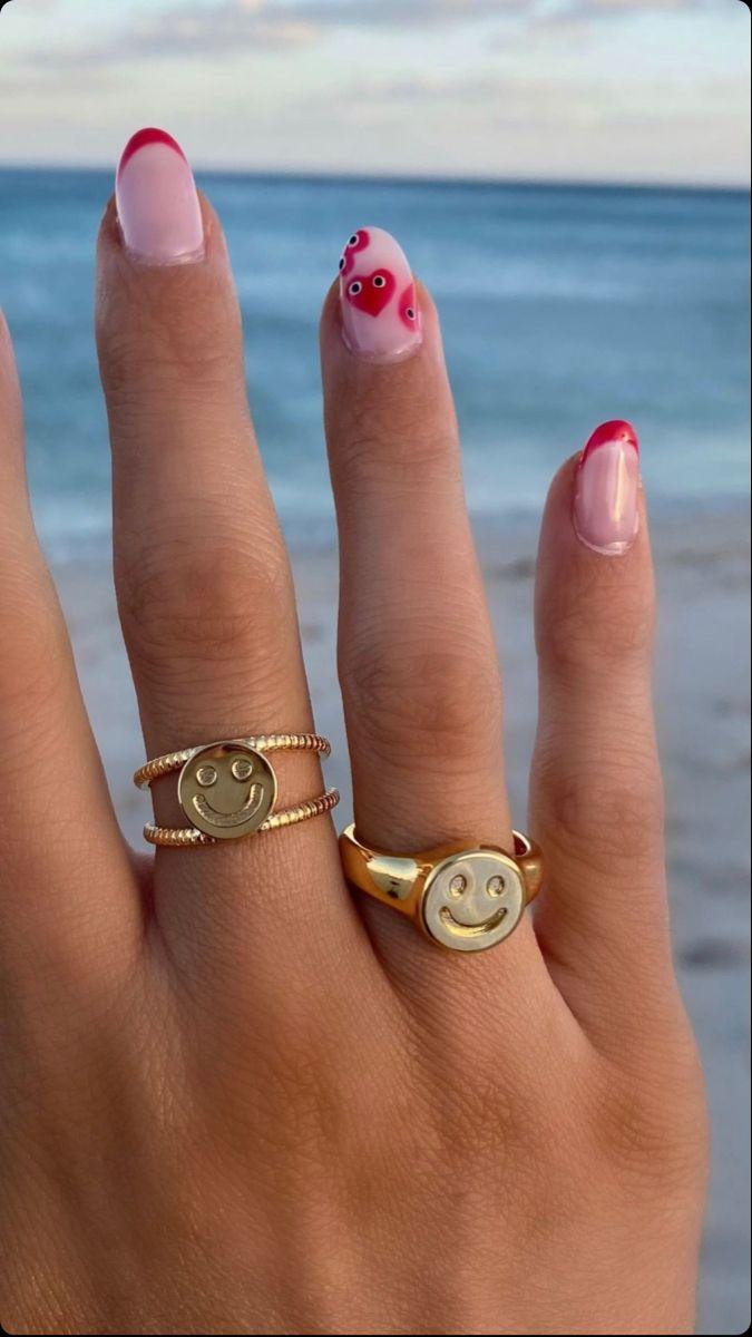 @cripgloss   Jelly nails, Pretty acrylic nails, Cute