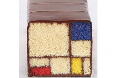 A miniature masterpiece from Modern Art Desserts