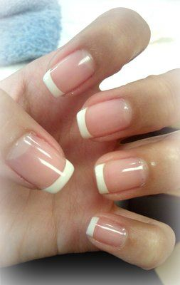 short french nails