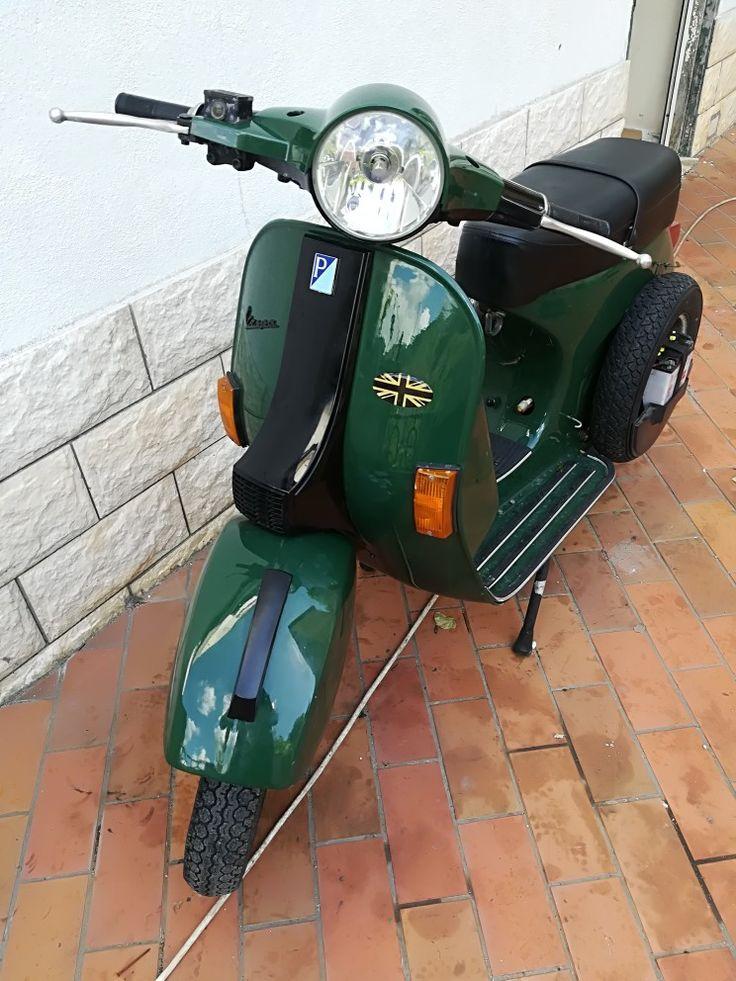 Vespa px 125 2000 green