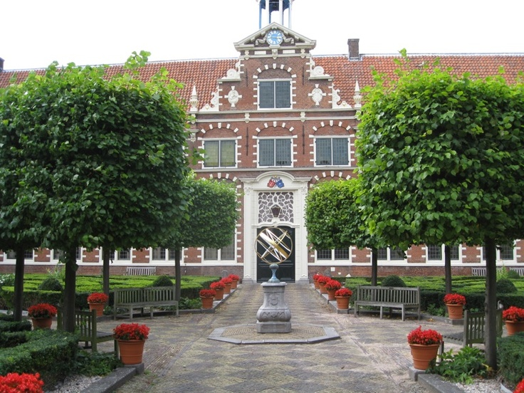 Frans Hals Museum courtyard, Haarlem, The Netherlands