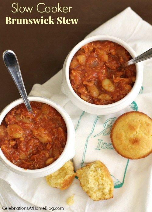 Slow Cooker Brunswick Stew RecipeHomes.com Inspiring You to Dream Big