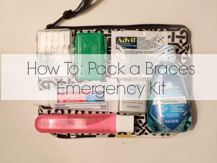 Braces: an emergency kit