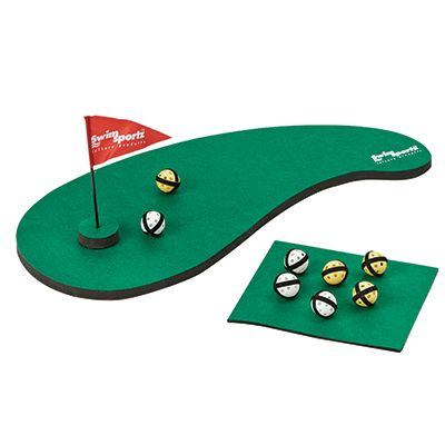 Floating Golf Challenge Floating Golf Game You Supply The Water Hazard Put Your Time In