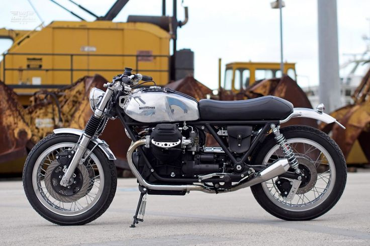 Moto Guzzi SP1000, Italian custom by Officine RossoPuro