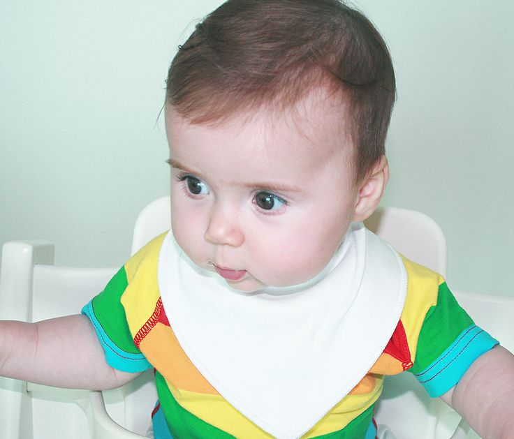 Littlemico™ Bandana Dribble Bibs. Style and beauty in simplicity.