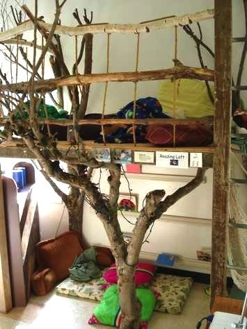 Kids Room Tree House Bed With Real Branches Kids Room