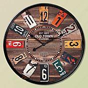 "24""H Mediterranean Nautical Style Wall Clock – AUD $ 84.22"