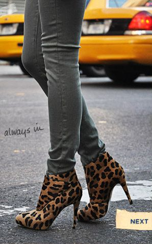 1000  images about Leopard Print Ankle Boot on Pinterest | Leopard ...