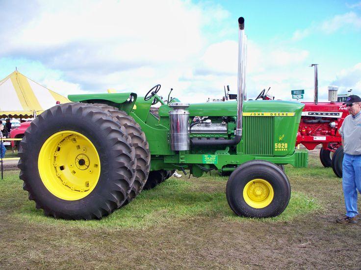 top ideas about john deere old tractors models kinze repowered 5020 john deere 5020
