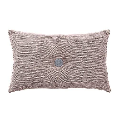 Home Republic Arlo Cushion Pink, button cushion, long cushion