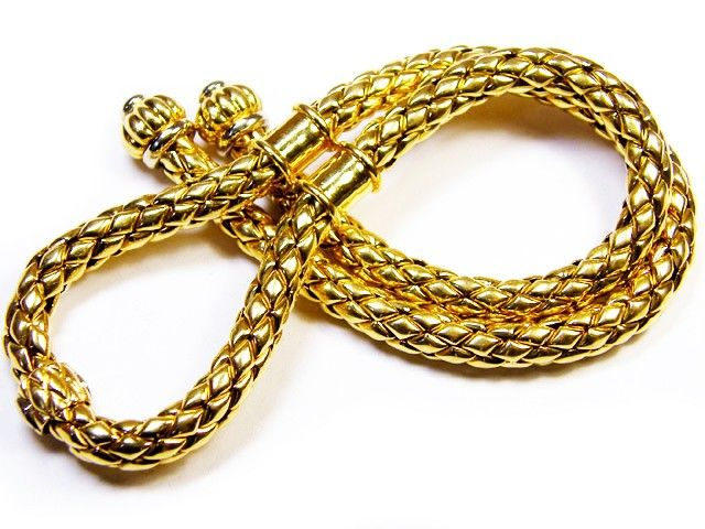 120 Grams COWBOY STYLE 18 K GOLD CHAIN       120 GRAMS    L 400 gold chain , gold jewelry , chain