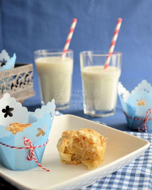 Recept: Appel-yoghurt muffins - Laura's Bakery