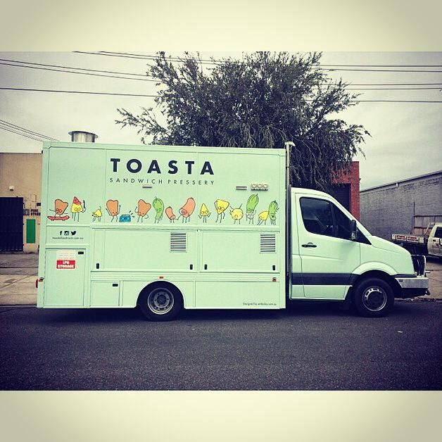 TOASTA   FOOD TRUCK  MELBOURNE