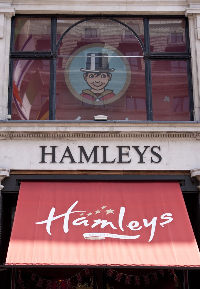Hamley's toyshop is the largest toyshop in the entire world! The nurseries and playrooms of Queen Elizabeth II and her children were stocked from Hamleys. #family #London #travel