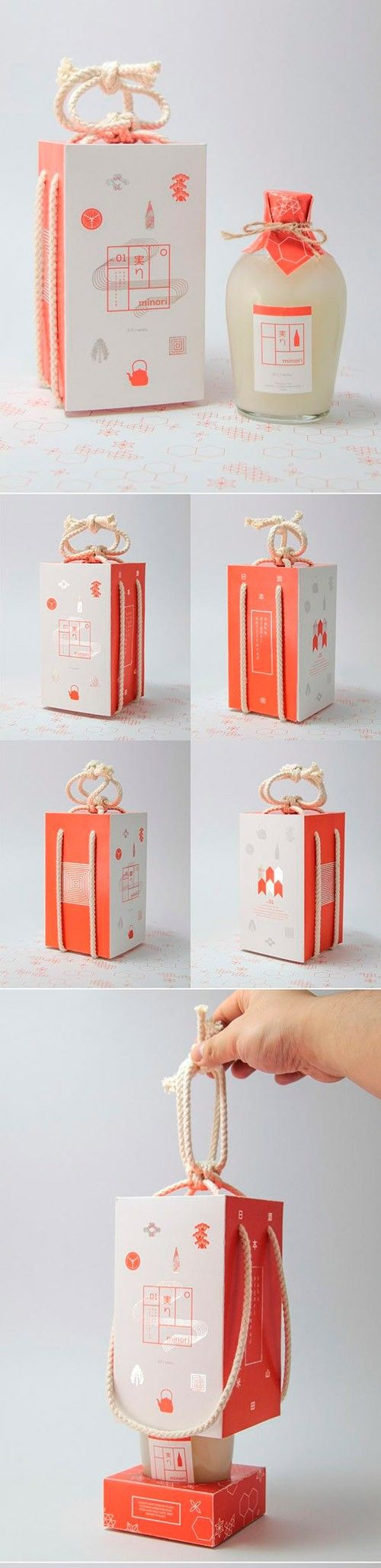 packaging / sake