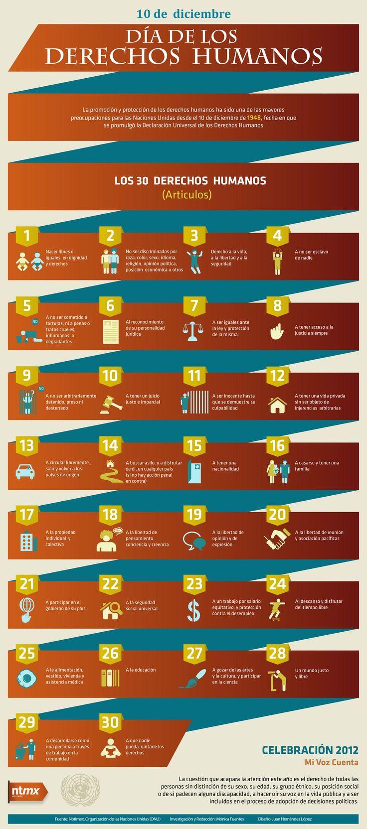 Derechos Humanos - Infografia