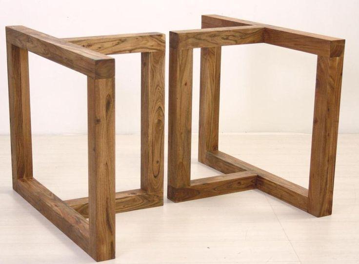 Base Mesa Jantar Madeira Modelo Formale - Living e Sala de Jantar ...   ::: Casa :::