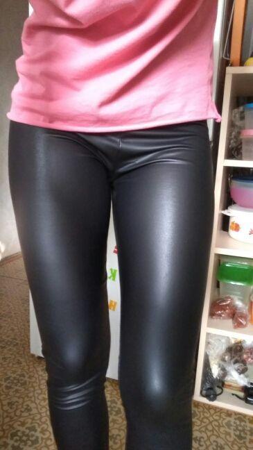 27de549706 Skinny Faux Leather Leggings | SHINY | Leather leggings, Faux leather  leggings, Leather leggings outfit