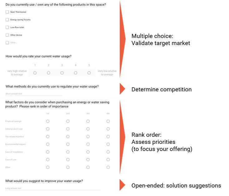 The 25+ best Survey examples ideas on Pinterest Reading survey - product survey templates
