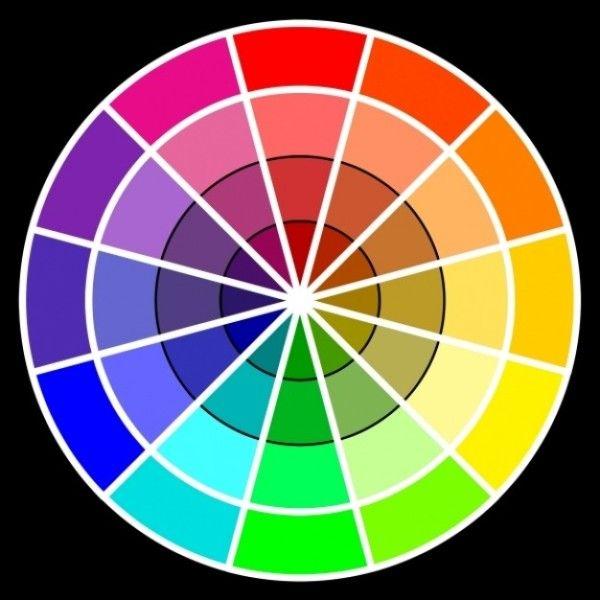 M s de 1000 ideas sobre arte de c rculo crom tico en - Rueda de colores ...