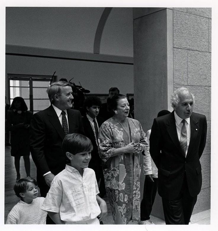 Brian Mulroney, Shirley Thomson & Moshe Safdie