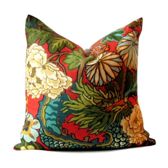 Decorative Pillow Cover Schumacher Chiang  by PillowsByDwellissimo