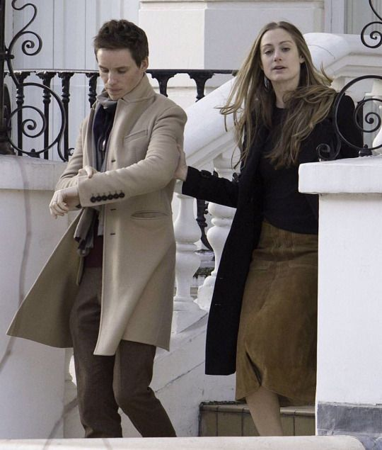 Eddie and Hannah out in Notting Hill Saturday Dec.10, 2016
