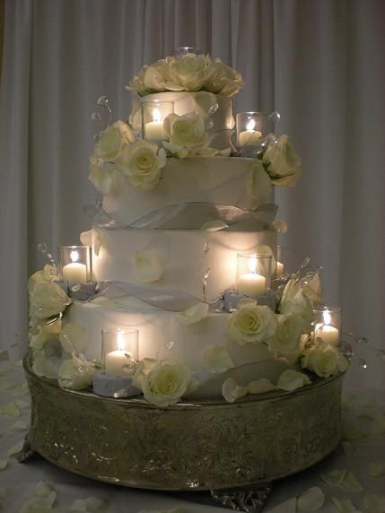 wedding cake candle 1000 images about wedding ideas an inexpensive 22154