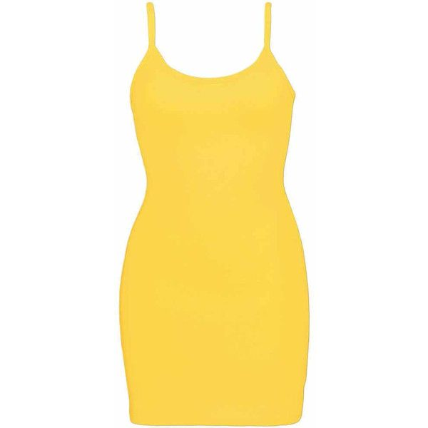 BKE Extra Long & Lean Tank Top - Yellow Small ($6.30) ❤ liked on Polyvore featuring tops, yellow, extra long tank, cotton tank, extra-long tank tops, extra long tank tops and spaghetti-strap tank tops