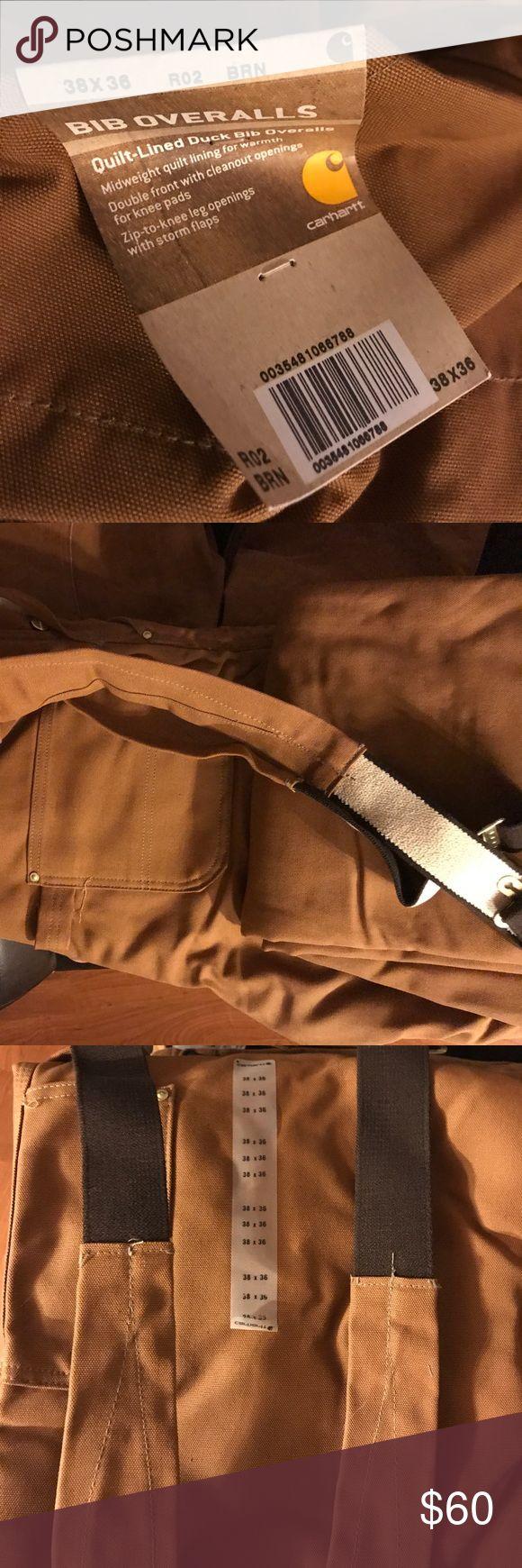 Carhartt bib overalls Brand new quilt lined duck bib overalls Carhartt Other