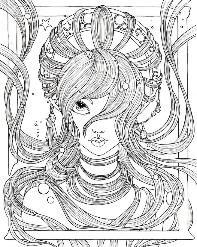 4279 best images about coloring 7 on pinterest dovers for Myka jelina coloring pages