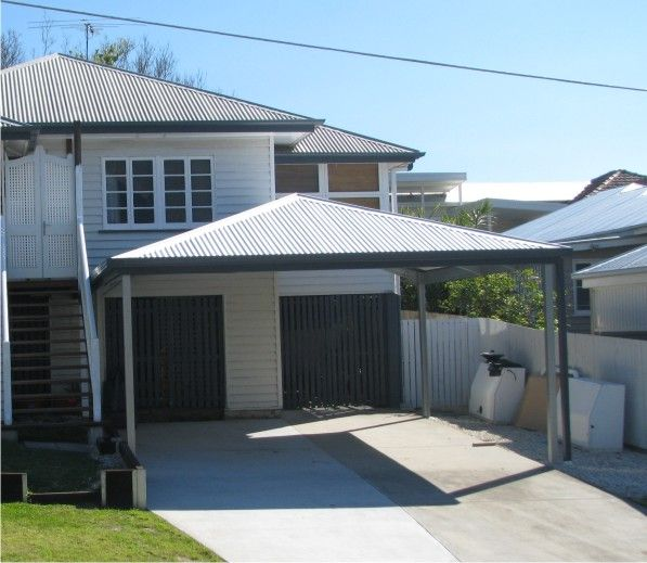Get a quality carport kit with a Hip Roof carport to match and add value to your home. Made to size, using Australian made steel, & delivered to your door.