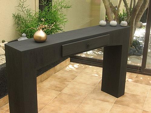 table console - carton