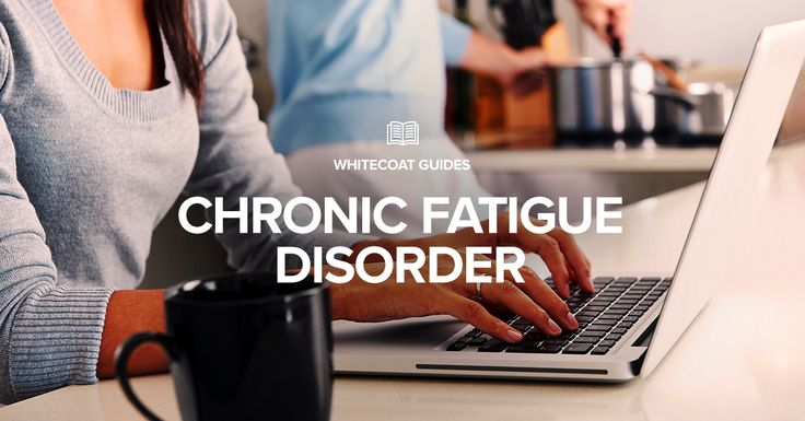 Chronic Fatigue Disorders - Fatigue is a feeling of tiredness which is generally defined as a lack of energy and motivation. It is usually considered to be a symptom, however, if it is persistent or recurring, it can be a condition that requires fatigue management.