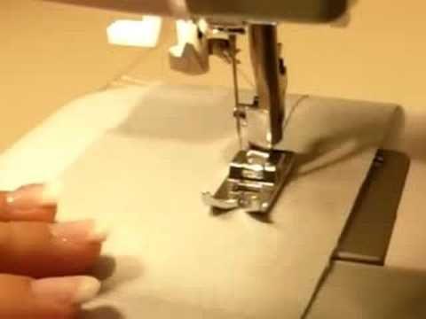 Cucire a macchina - punto dritto -youtube